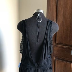Free People Dresses - Free People look of love lace trim slip dress
